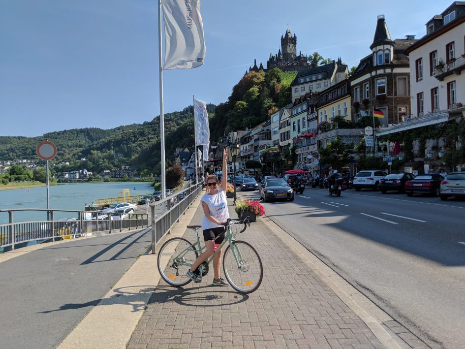 bike tour on the Moselle river