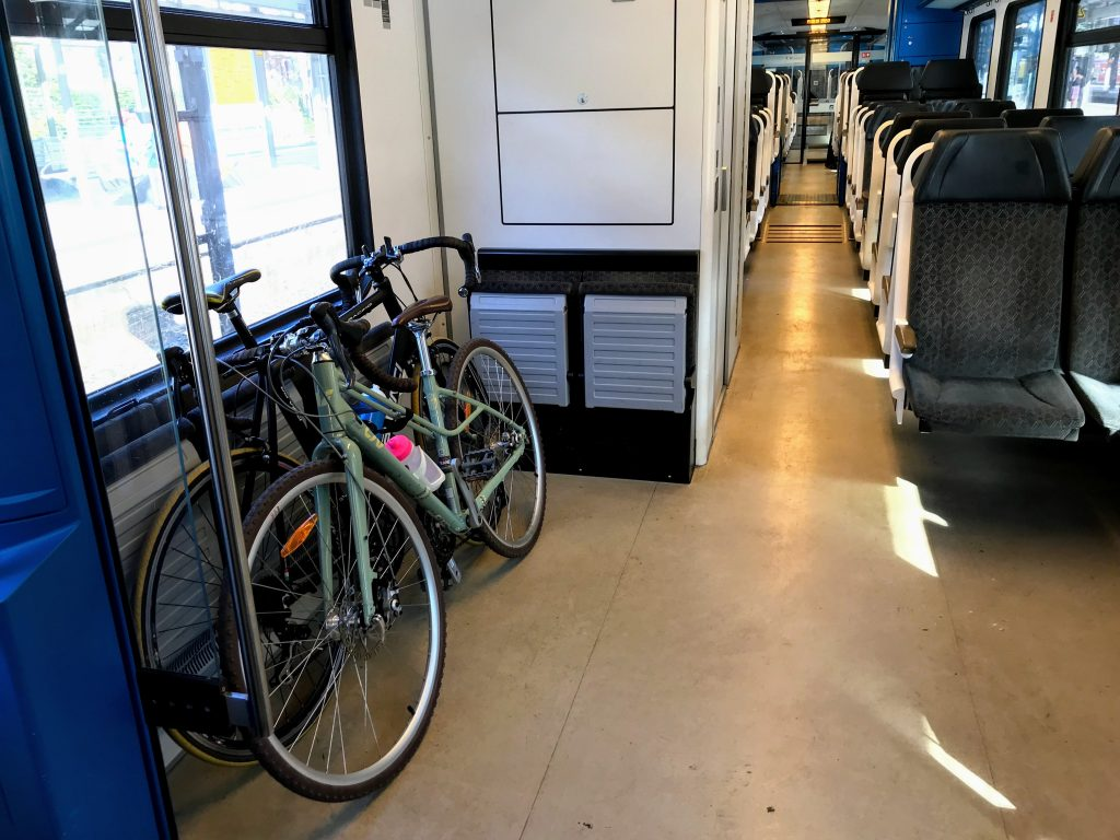 travel with bike by train