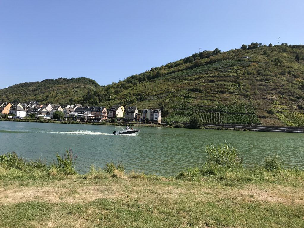 Moselle bicycle path