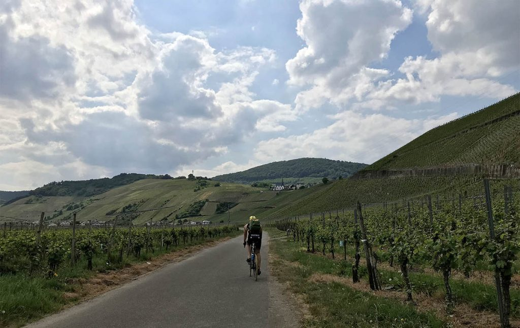 Mosel Radweg bike trip on the Moselle