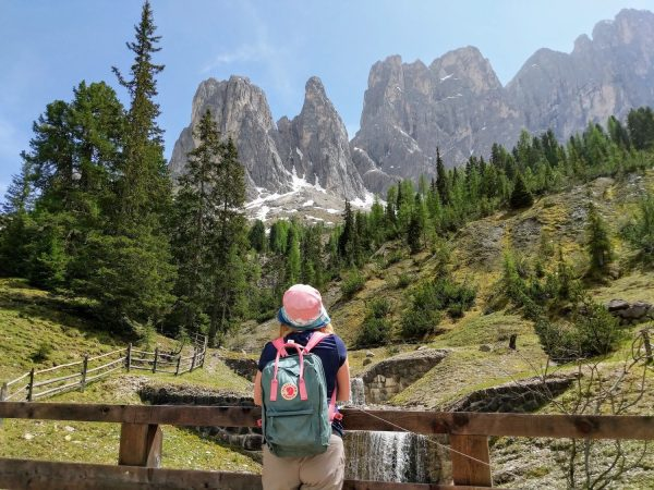 hiking routes in the Dolomites