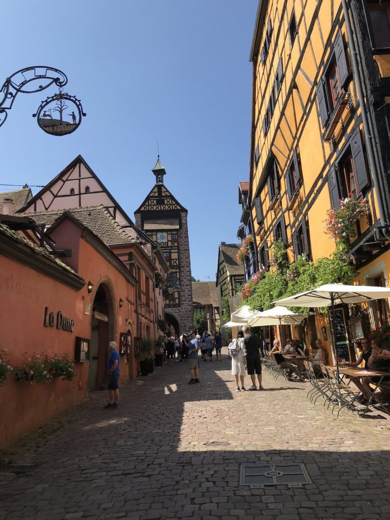 Riquewihr - fairy tale village near Colmar
