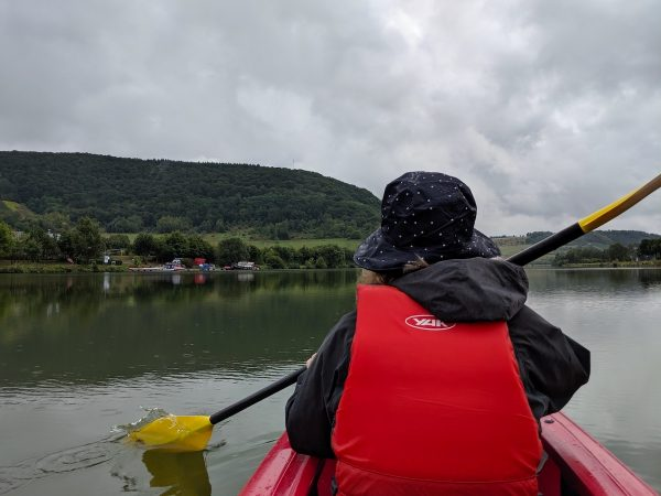 Kayaking trip on the Saar