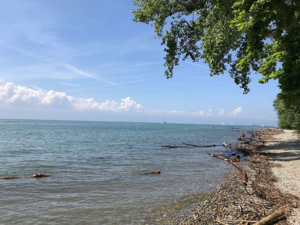 Dog-friendly camping Park Gohren at the Lake Constance