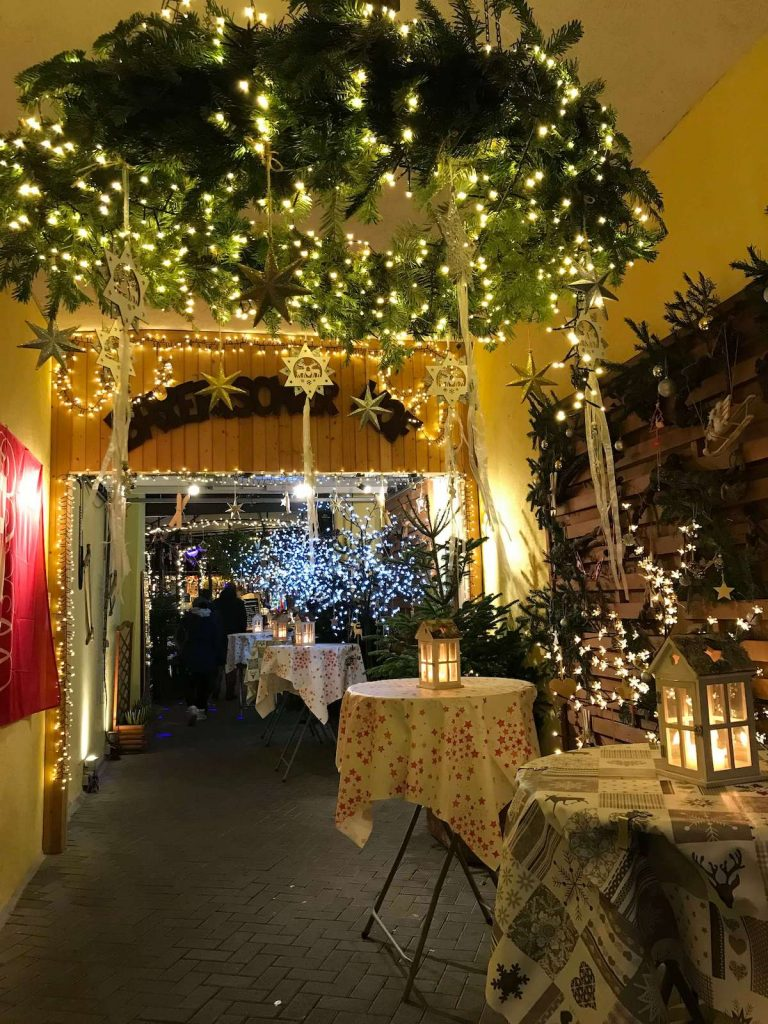 Christmas market in Rüdesheim
