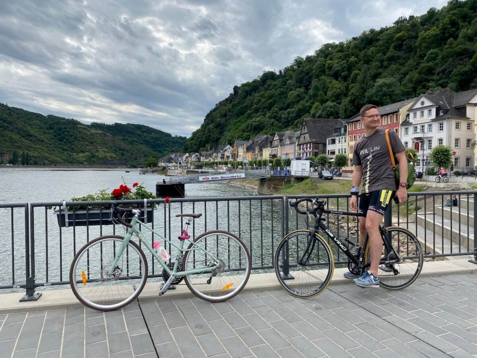 Rhine Cycle Route from St Goar to Bingen
