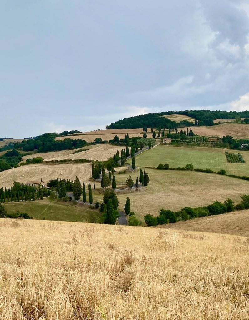 Road trip to Tuscany The landscape of the Val d'Orcia
