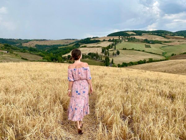 Road Trip to Tuscany in times of the Coronavirus Pandemic