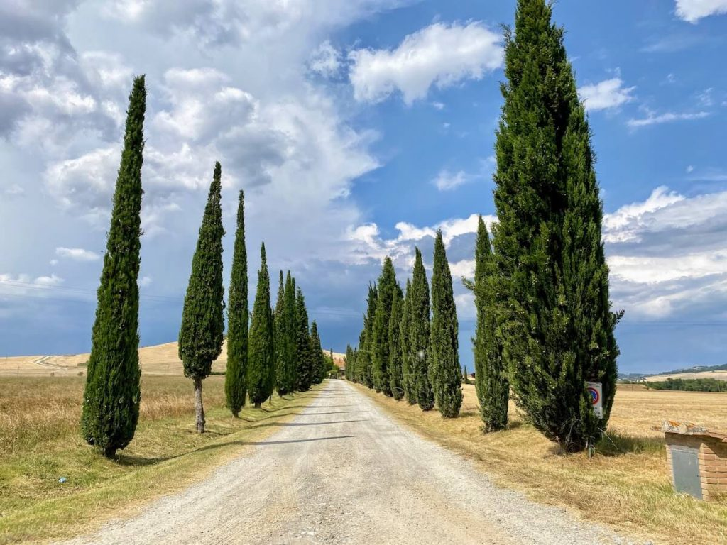 road trip in Tuscany